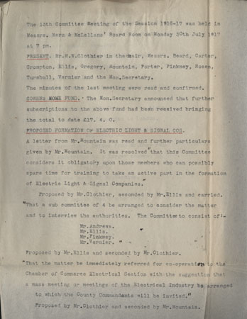 IET-CEN-15-01-94-Entry-in-Minute-Book-from-committee-meeting-30-July-1917