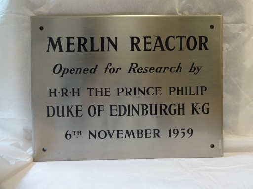 OPC 01 147 - Merlin Reactor First Plaque