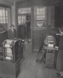 NAEST-233-05-page-07-image-of-sorting-and-tabulating-room-at-Cornhill-Insurance