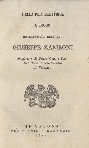 Zamboni-Della-Pila-Elettrica-Title-Page
