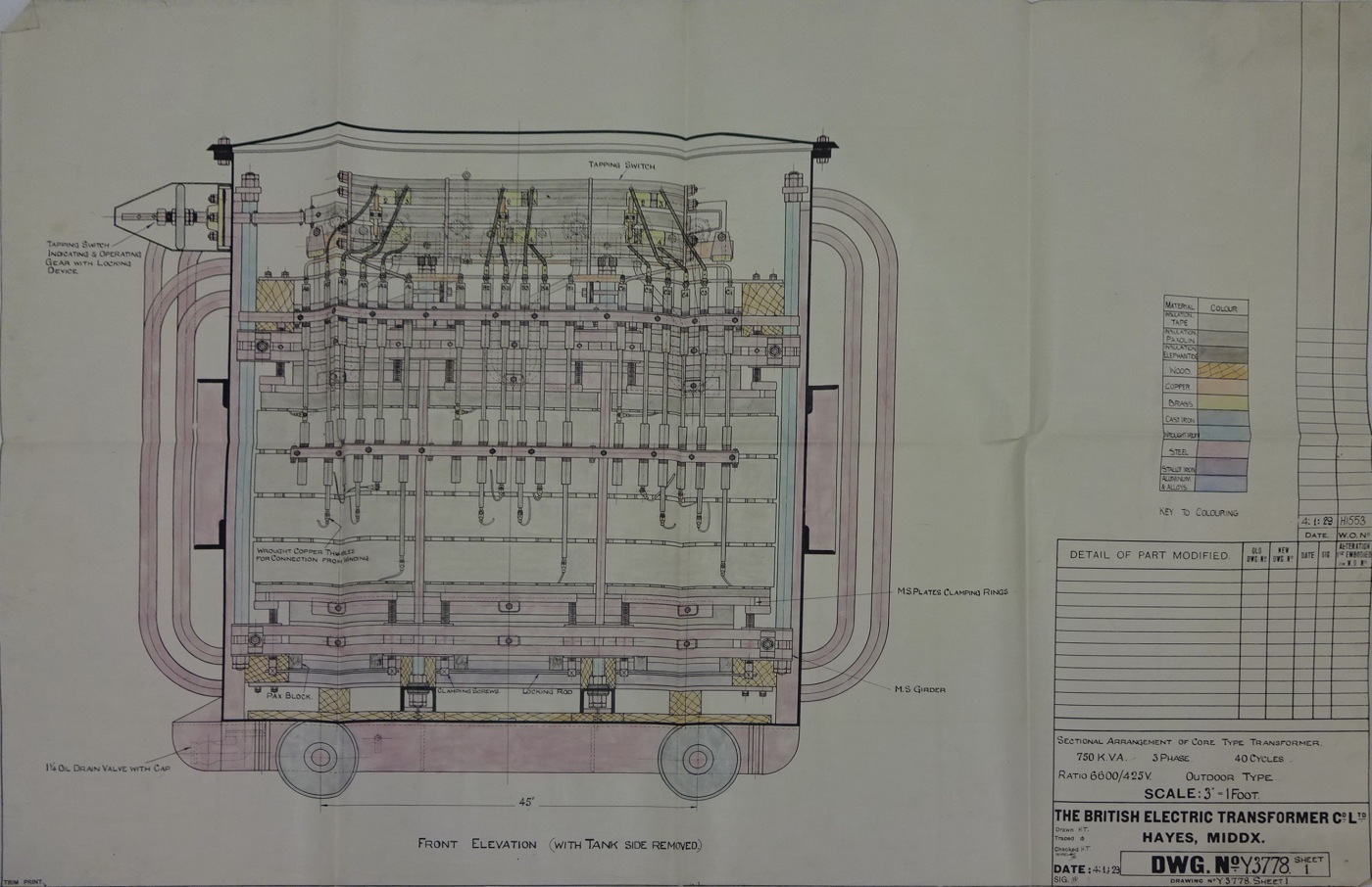 Early ICI Billingham Electrical Engineering Drawings – IET Archives Blog
