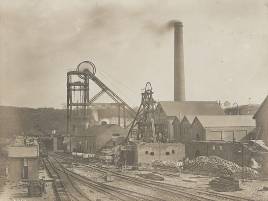 NAEST-074-07-08-page-71-General-view-of-pit-head-gear-at-Silverwood-Colliery
