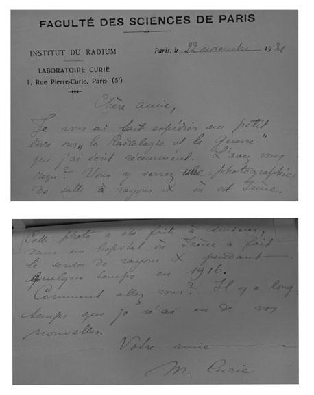 IET-RB-8vo-XXX-Mme-Curie-La-Radiologie-et-la-Guerre---Combined-Letter