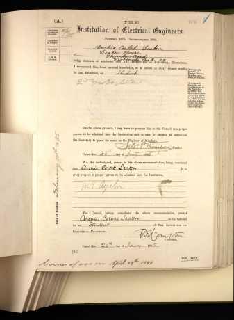 membership form 1895